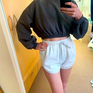 TOPSHOP high waisted training Shorts size S-M